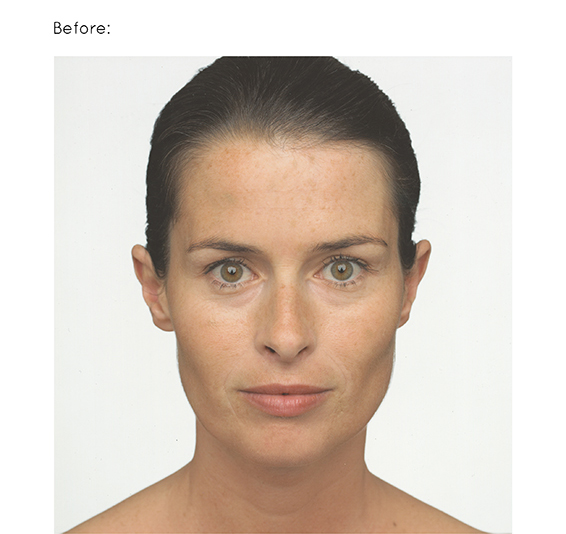 Beauty retouching - Before
